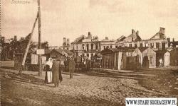 Rynek w Sochaczewie.